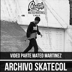 video parte Mateo martinez